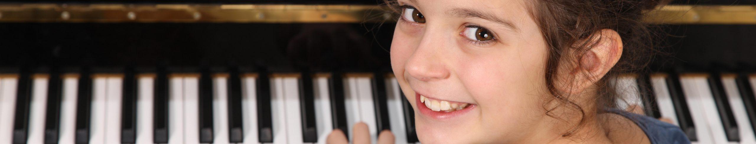 il pianoforte per un bambino